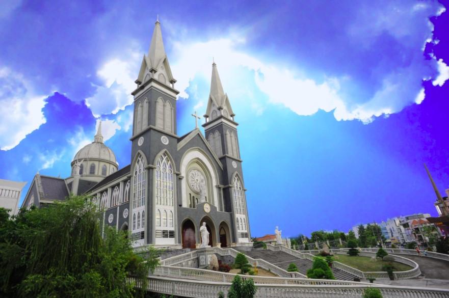 Hình ảnh về nhà thờ Bình Dương